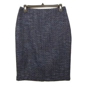 Ann Taylor Tweed pencil skirt size 4